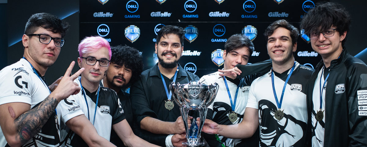 É tetra: INTZ vence o 1° split do CBLoL 2019