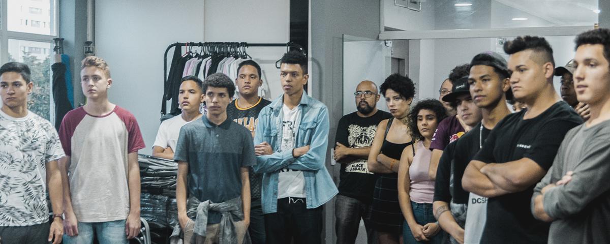 Estudantes visitam o QG do INTZ em São Paulo